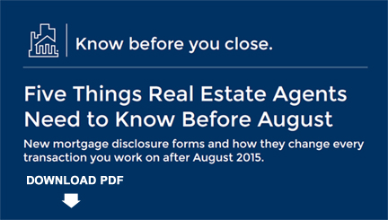 Five Things Real Estate Agents Need to Know Before August